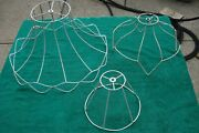 Vintage Victorian Lamp Shade Frame Lot Of 3