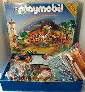 Playmobil 3120 Horse Barn With 35 People, 14 Animals, Plus Many More Pieces