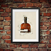 Woodford Reserve Double Oaked Premium Small Batch Bourbon Whiskey - Wall Art