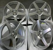 16 Silver Pace Alloy Wheels Fit Ford Ecosport Cougar Mazda 2 Audi 80 4x108