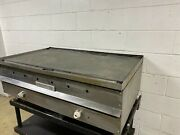 Vulcan 48 Inch Flat Top Grill Natural Gas Tested No Stand