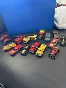 Vintage Hot Wheels Collection Lot Of 17 1960andrsquos 1970andrsquos 1980andrsquos