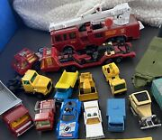 Lot Of 15 Vintage Matchbox Cars 1960's And 1970's