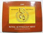 1 X Australian 1986 1 Coin From This Mint Set