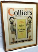 Maxfield Parrish Professionally Framed Colliers Magazine Cover July 20, 1929