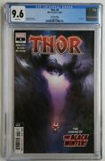 Thor 4 2nd Print Cgc 9.6 1st App Black Winter Cameo ✅ Donny Cates Knull Thanos