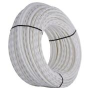 White Pex Pipe Tubing Flexible Coiled Underground 3/4 Inches X 500 Ft Durable