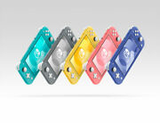 Nintendo Switch Lite Console Yellow/grey/pink/teal Brand New Same Day Shipping