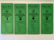 Southern Pacific Company San Joaquin And Los Angeles Division Employee Timetable