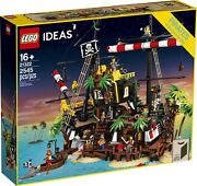 Lego Ideas Pirates Of Barracuda Bay Set 21322 Brand New/sealed In Hand