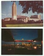 Will Rogers Coliseum Fort Worth Texas Lot Of 2 Postcards