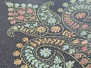 Soft Woolen Embroidered Stole/ Wrap Sale Clearance Christmas Gift
