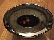 Oem 1960-64 Buick Cats Eye Clock And Bezel Works