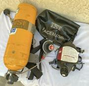 Isi Scba Fire Fighting Apparatus W/ Mask Harness Tank New Hydro To 2025 - A