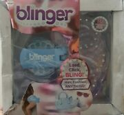 Blinger Diamond Collection Glam Styling Tool Load Click Bling Blue Dmged Box