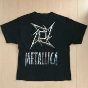Metallica T-shirt Menand039s Size L Color Black Cotton 1990s Vintage From Japan Used