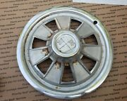 Vintage Chevy Corvette Wheel Cover Hubcap 14 Muscle Car Hot Rod - 1 Ea Used