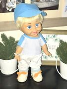 Price Lowered Galoob Baby Face Boy Doll Rare Denny Aka Sasha