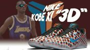 Nike Kobe Xi 11 Low 3d Cool Grey Red Blue Multicolor Wtk What The Bryant Vi 9.5