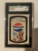 Pupsi Cola 1974 Wacky Card Sgc Psa Very Rare Card Was Removed From Production