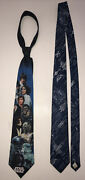 Vintage Lot Of 2 1994 Ralph Marlin Star Wars Tie Main Characters Andblue Ships Tie
