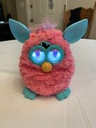 Hasbro Furby Cotton Candy Pink Teal Blue Interactive Pet Toy 2012 Tested Works