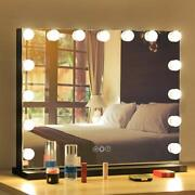 Fenchilin Vanity Mirror With Lightshollywood Lighted Mirror With Dimmer Or