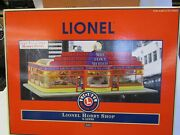 Lionel 6-32998 No.500 Hobby Shop Animated Operating Layouts And Lights Nib