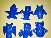 Vintage Boo Berry Count Chocula Frankenberry Pencil Toppers General Mills Blue