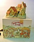 David Winter Cottages Brookside Hamlet 1982 Hampshire Gb With Box Reduced