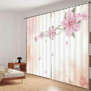 Wonderful Pink Necklace 3d Blockout Photo Print Curtain Fabric Curtains Window