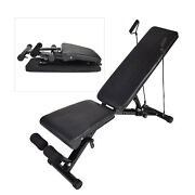 Adjustable Weight Bench Exercise Bench Incline Decline Foldable Utility Workout