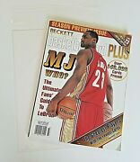 Lebron James Beckett Basketball Card Plus Fall 2003 Magazine Rookie Cover Issue