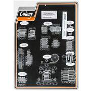 Colony 1024-p Complete Show Bike Kit Chrome Smooth Allen Hardware Harley 07-08