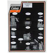 Colony 1004-p Complete Show Bike Kit Chrome Smooth Allen Hardware Harley 1992-9