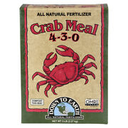 Down To Earth 07844 Crab Meal All Natural Fertilizer 4-3-0 5 Lbs