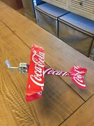 Coca-cola Classic Plane Tin Sign Handcrafted From Cans Coke Soda Customs Plane