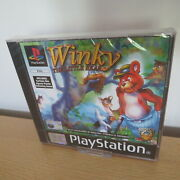 Winky The Little Bear Playstation 1 Ps1 Pal New Sealed