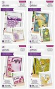 Gemini - Create A Card - Textured Corner Dies By Crafters Companion You Pick New