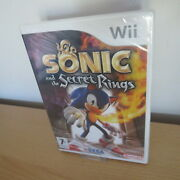Sonic And The Secret Rings Wii New Sealed Pal Version