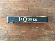 Iqubes. Vintage Bakelite Game Pieces With Case.