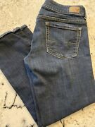 American Eagle Outfitters Artist Crop Stretch Capri Jeans Size 6