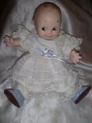 Antique Vintage Kewpie Bisque Doll Rose Oand039neill 10.5 Arms/legs Jointed See Desc
