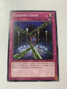 Yugioh Fiendish Chain - Sdbe-en034 - Common - Unlimited Edition Lightly Played