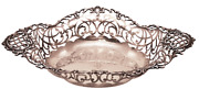 Mermod And Jaccard Pierced Sterling Silver Fruit Bowl
