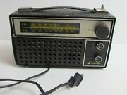 Vintage Nuvox Am/fm 290 Portable Radio - Battery Operated And Electric