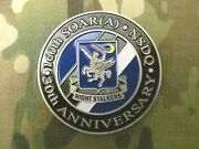 Rare 2 1/2 Inch 160th Soar Night Stalkers 30th Anniversary Challenge Coin