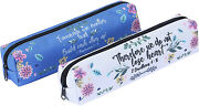 Mr. Pen- Pencil Pouch For Bible Study 2 Pack Small Pencil Case Pen And Case