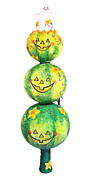 Patricia Breen Ghostly Finial Natural Pumpkin Halloween Full Size 2142 2005 13