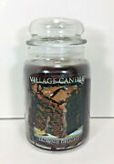 Village Candle Brownie Delight 23oz Jar Hot Chocolate Mocha Cocoa Scented Wax